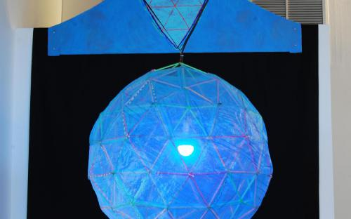 Haint Blue (porch light) by Leah Reynolds