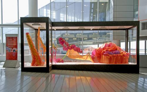 Furl, installation by Leah Reynolds