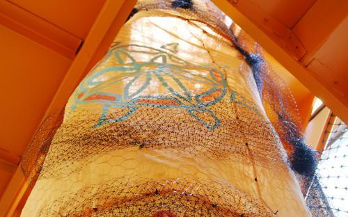 Honey II (detail) by Leah Reynolds