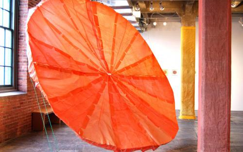 Sphericity, installation by Leah Reynolds